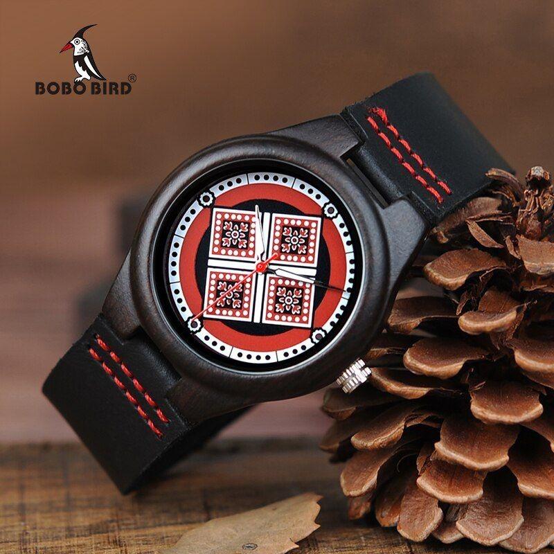 Relógio de Madeira Banara - Bobo Bird