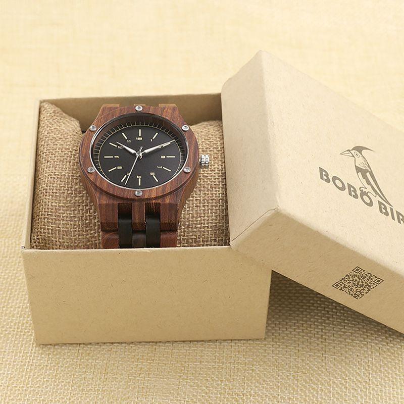 Relógio de Madeira Cabralea - Bobo Bird