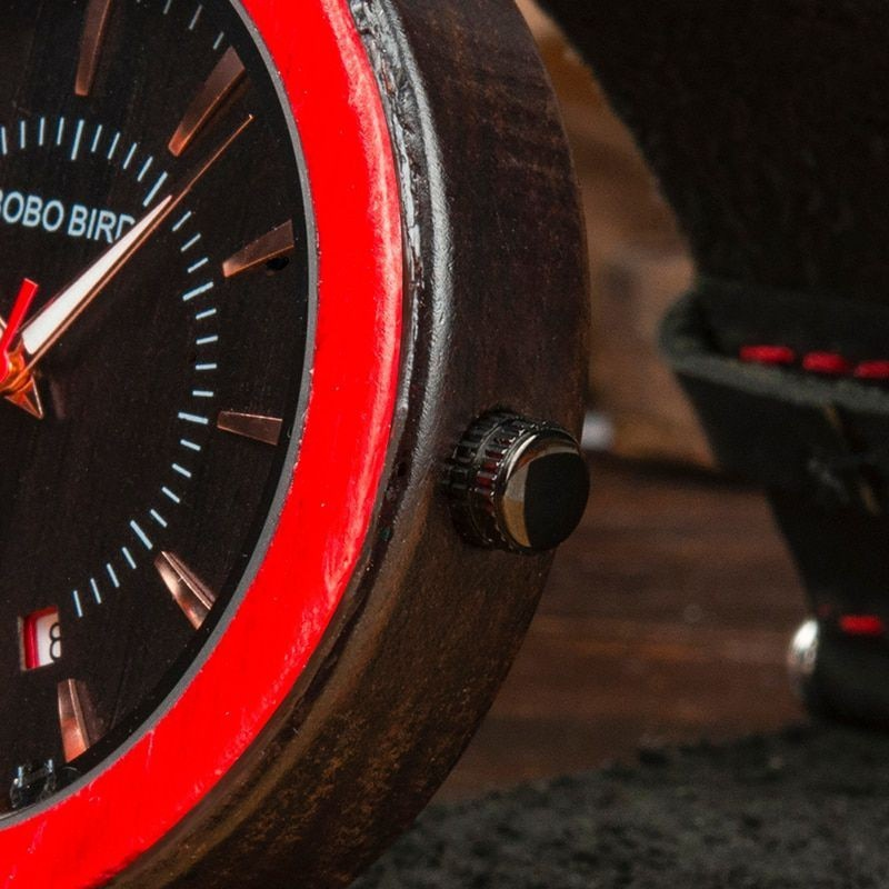 Relógio de Madeira Callistemon - Bobo Bird