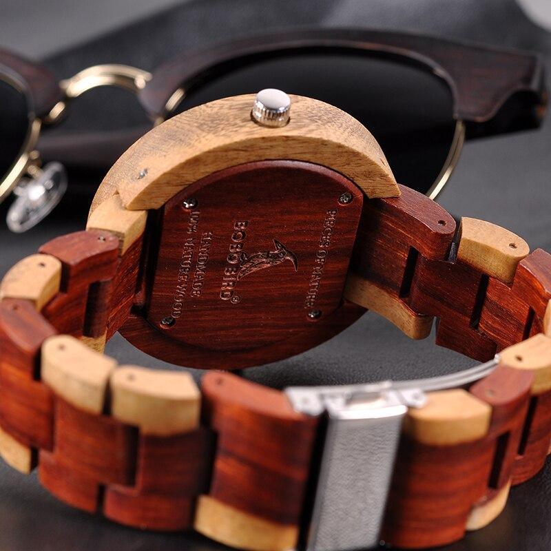 Relógio de Madeira Caryocar - Bobo Bird