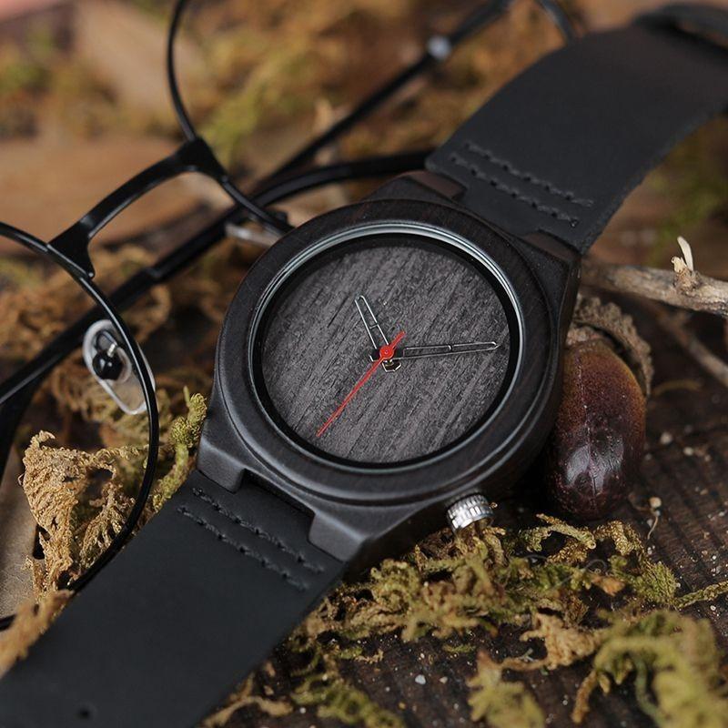 Relógio de Madeira Casar - Bobo Bird