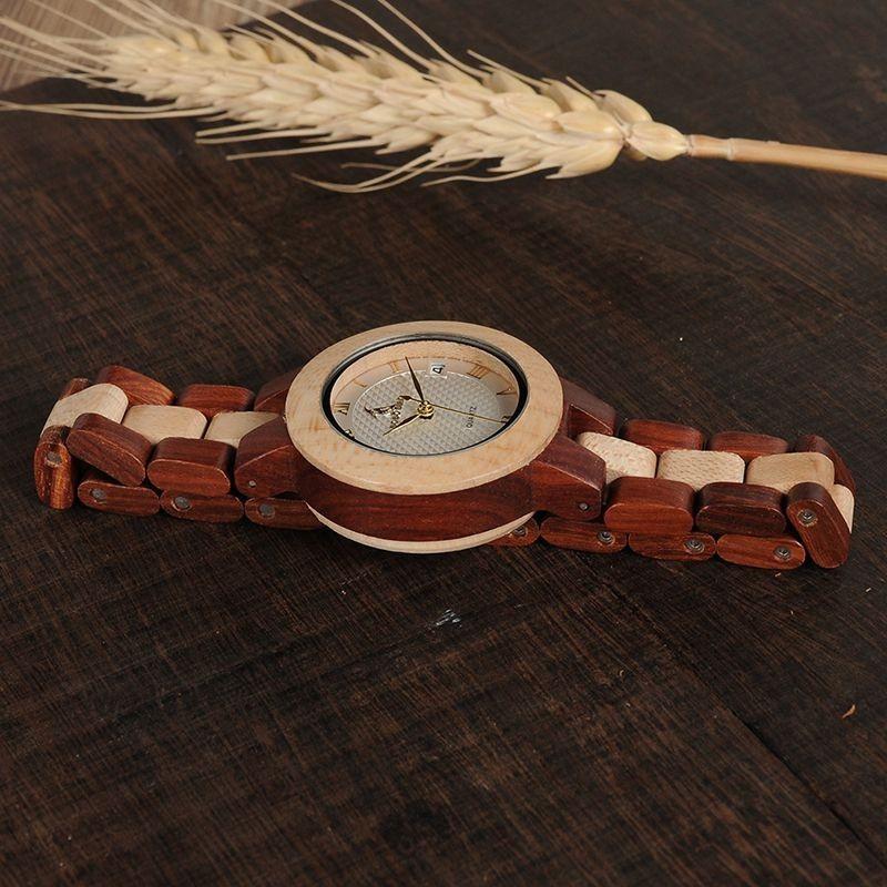 Relógio de Madeira Cassia - Bobo Bird