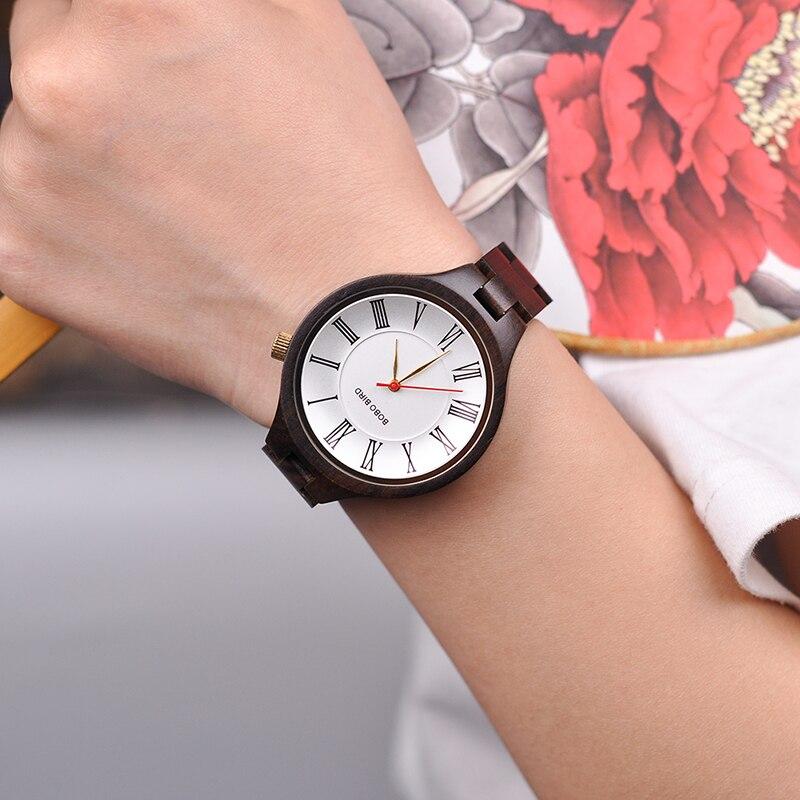 Relógio de Madeira Cedrela - Bobo Bird
