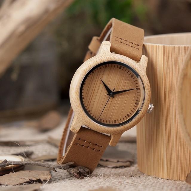 Relógio de Madeira Chandelier - Bobo Bird