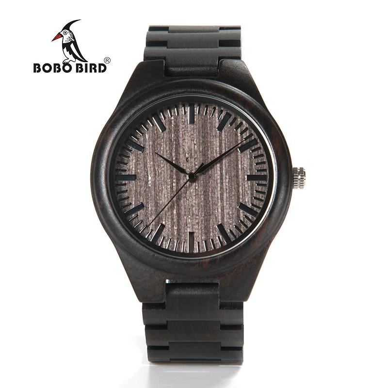 Relógio de Madeira Chorisia - Bobo Bird