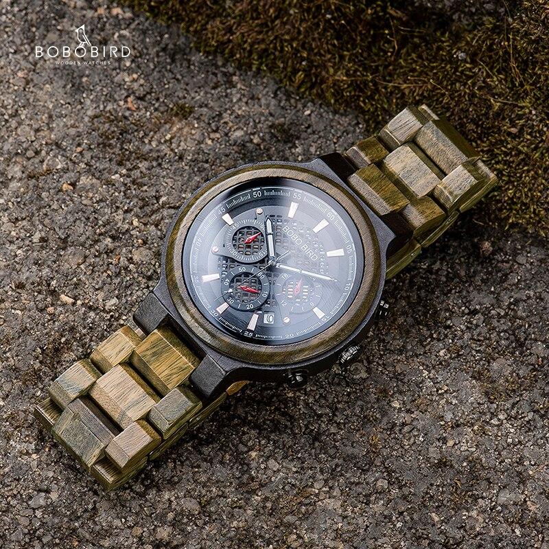 Relógio de Madeira Cybistax - Bobo Bird
