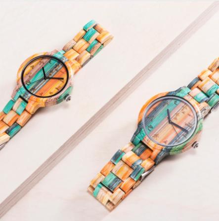 Relógio de Madeira Dodonea - Bobo Bird