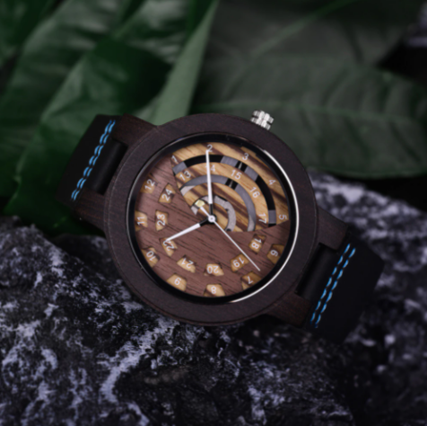 Relógio de Madeira Drymis - Bobo Bird