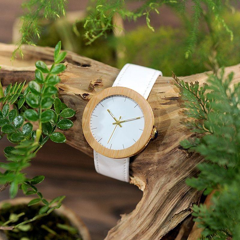 Relógio de Madeira e Aço Inox Persea - Bobo Bird