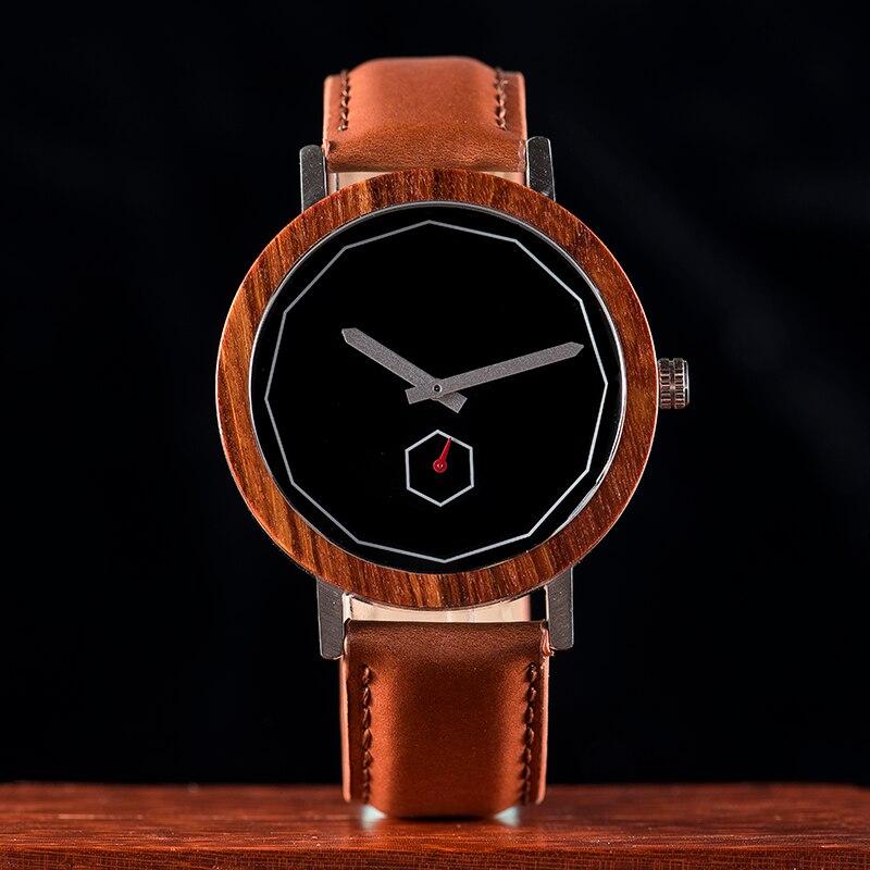 Relógio de Madeira e Aço Inox Pterocarpus - Bobo Bird