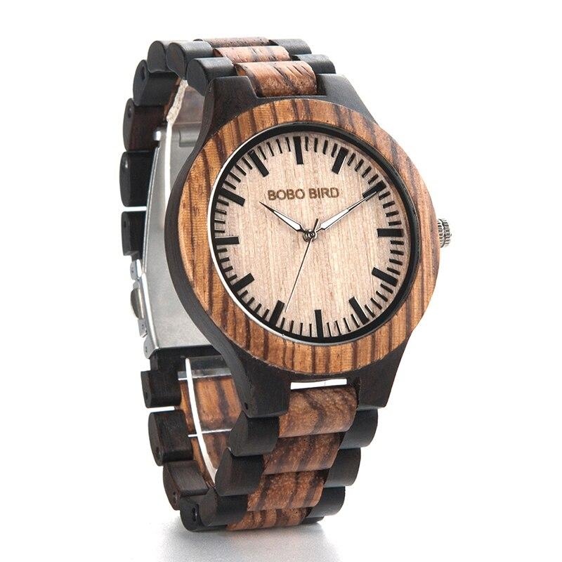 Relógio de Madeira Garcinia - Bobo Bird