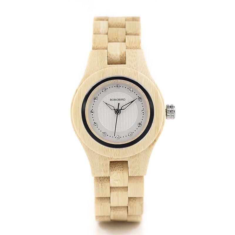 Relógio de Madeira Dryandra - Bobo Bird