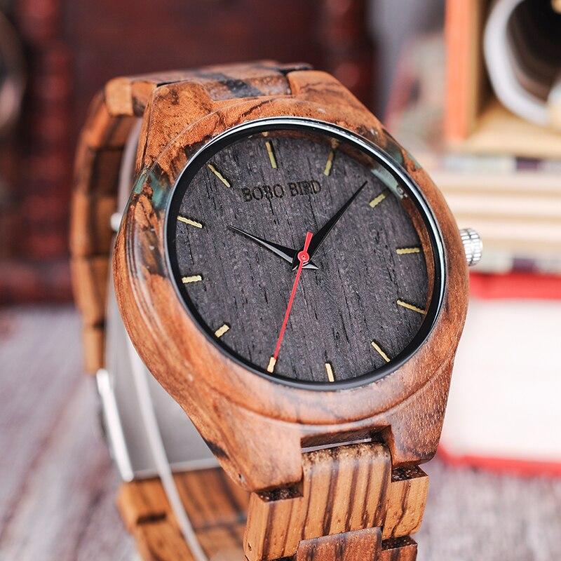 Relógio de Madeira Guarea - Bobo Bird
