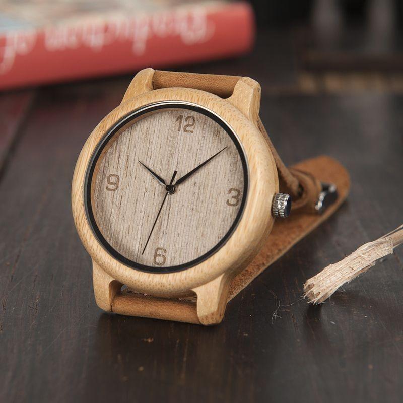 Relógio de Madeira Herbie - Bobo Bird