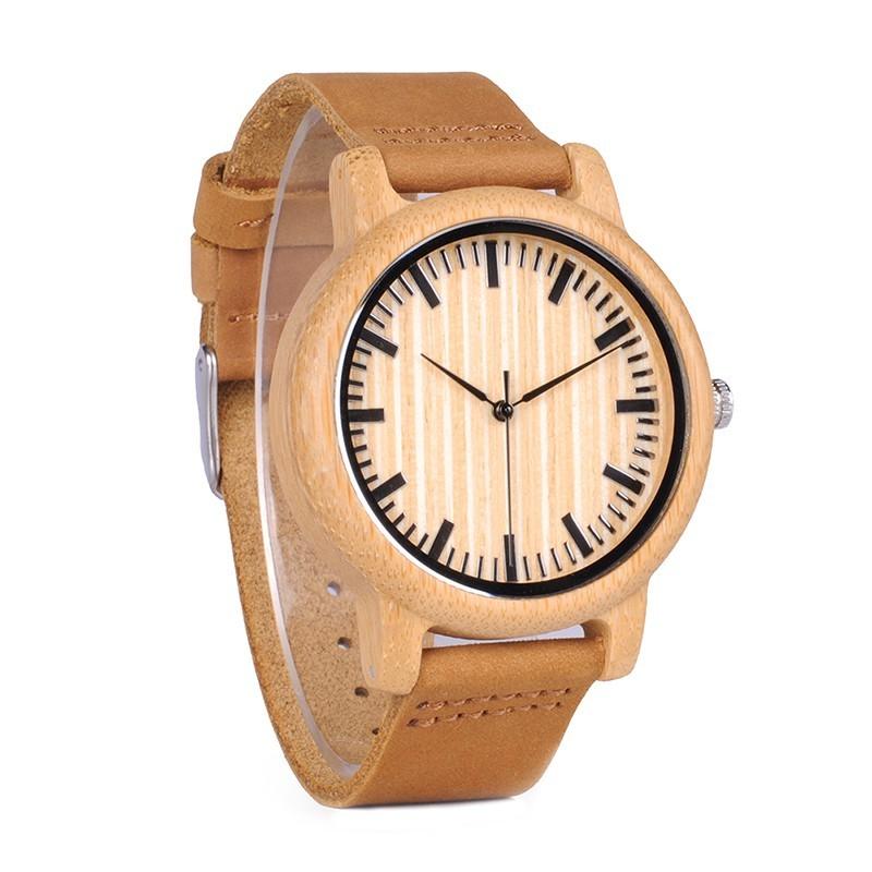 Relógio de Madeira Hevea - Bobo Bird