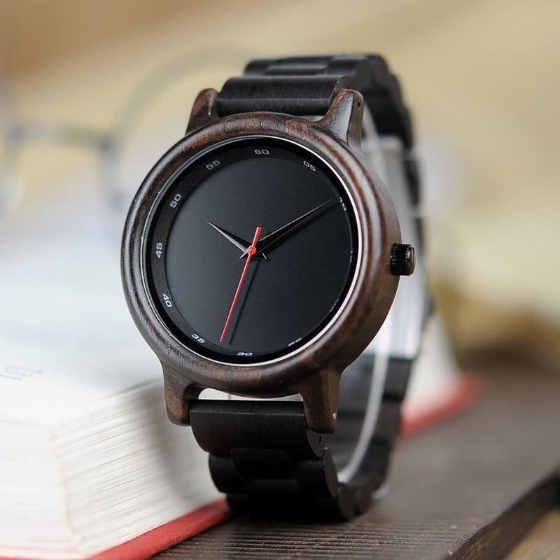 Relógio de Madeira Lecythis - Bobo Bird