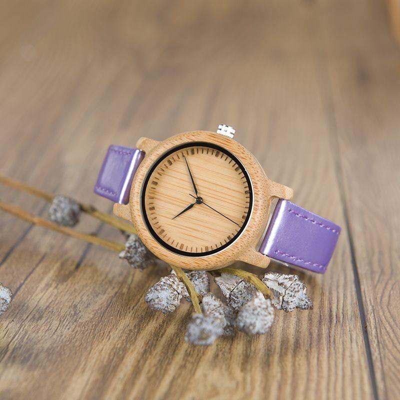 Relógio de Madeira Malus - Bobo Bird