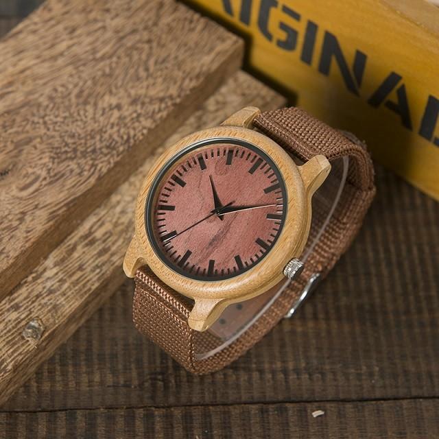 Relógio de Madeira Maytenus - Bobo Bird