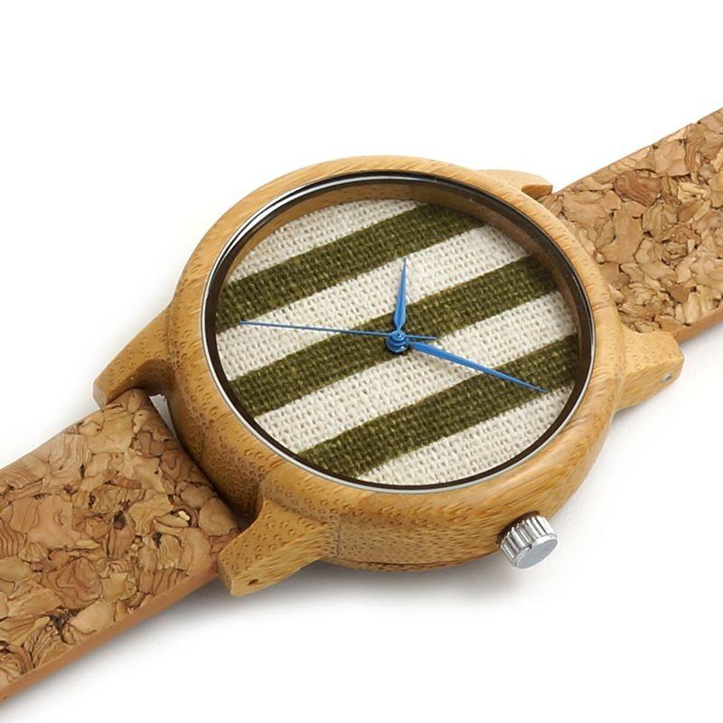 Relógio de Madeira Mombin - Bobo Bird