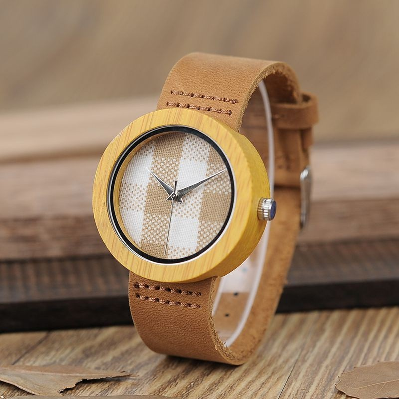 Relógio de Madeira Moringa - Bobo Bird