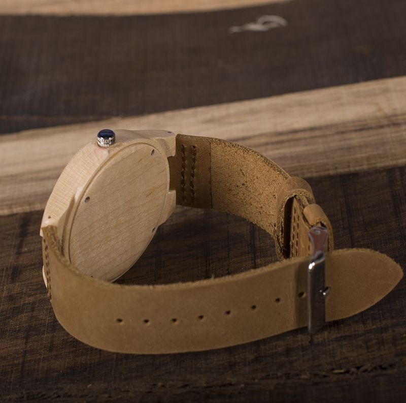 Relógio de Madeira Mulberry - Bobo Bird