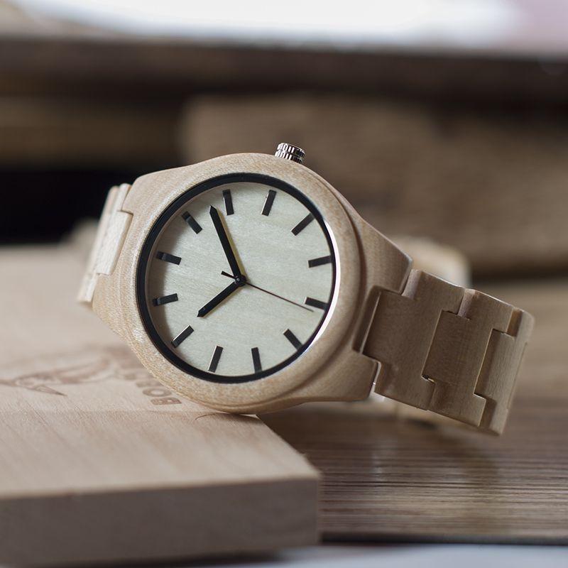 Relógio de Madeira Nectandra - Bobo Bird