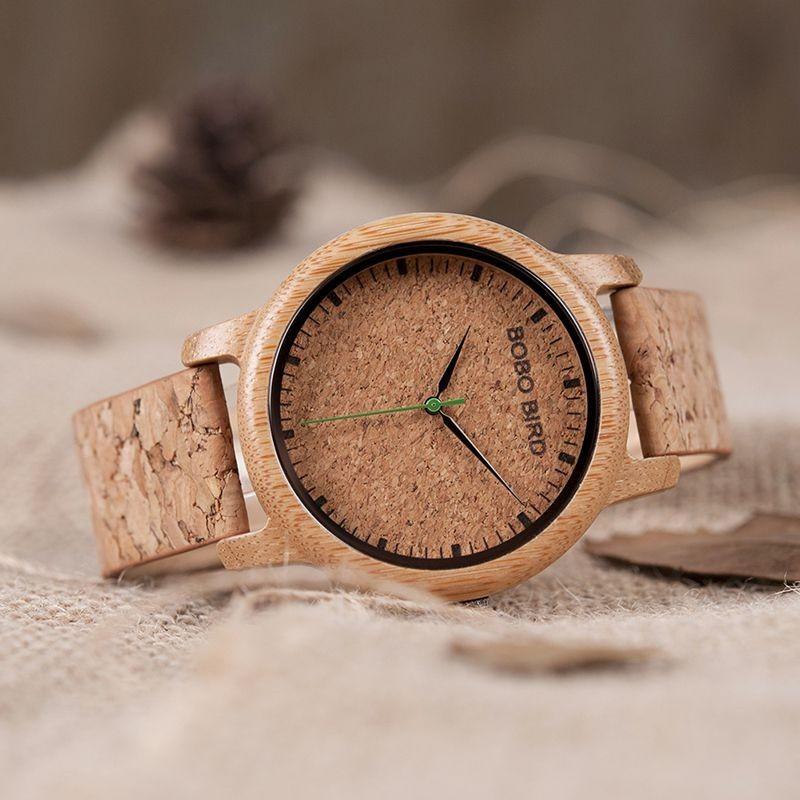 Relógio de Madeira Norway - Bobo Bird