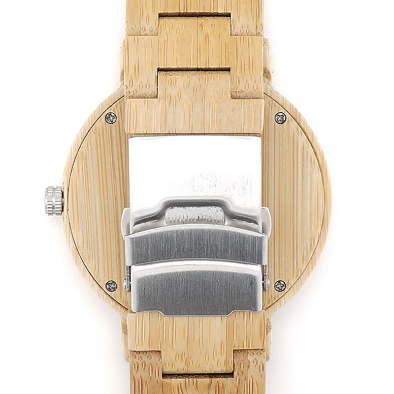 Relógio de Madeira Pinus - Bobo Bird