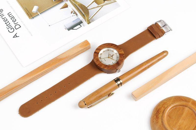Relógio de Madeira Plinia - Bobo Bird