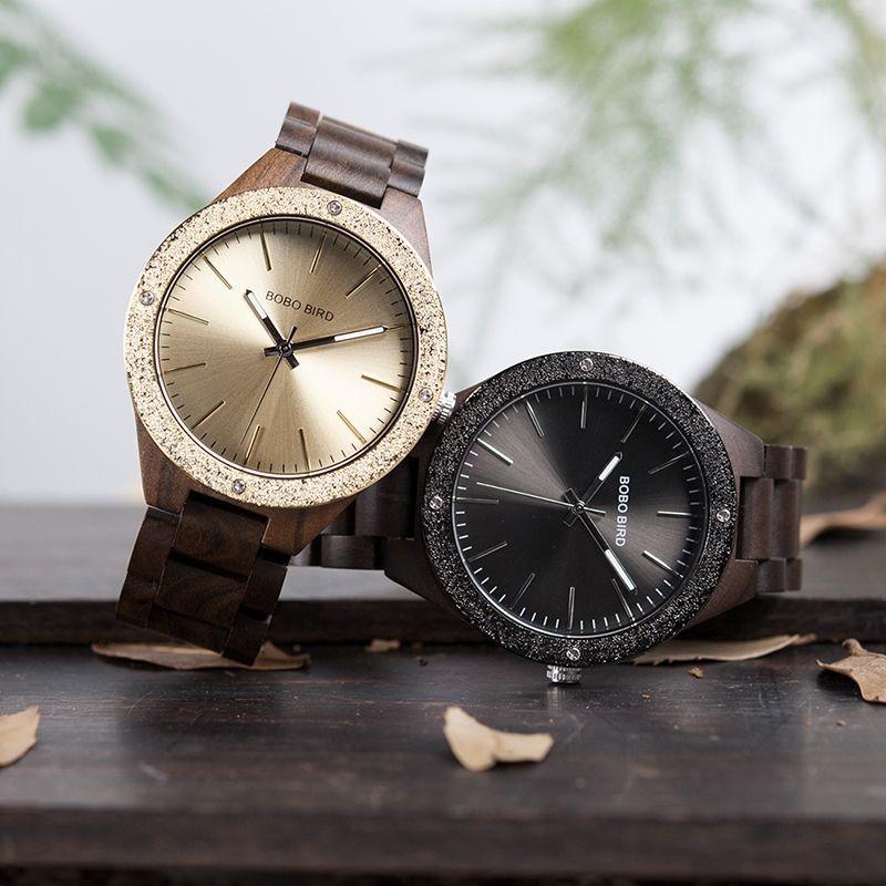 Relógio de Madeira Poncirus - Bobo Bird