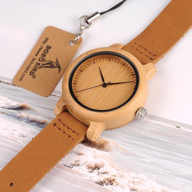 Relógio de Madeira Populus - Bobo Bird