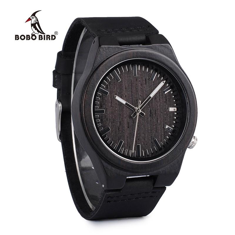 Relógio de Madeira Salix - Bobo Bird