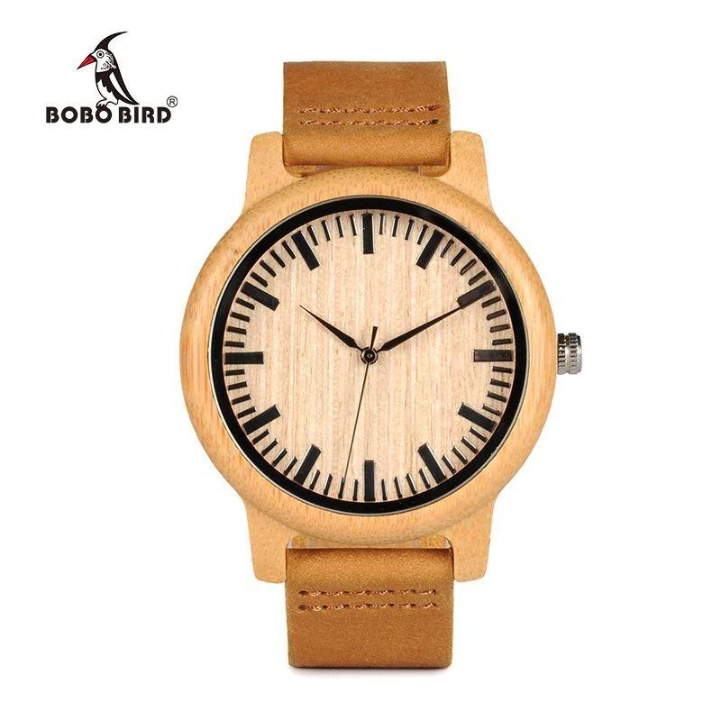 Relógio de Madeira Santalum - Bobo Bird