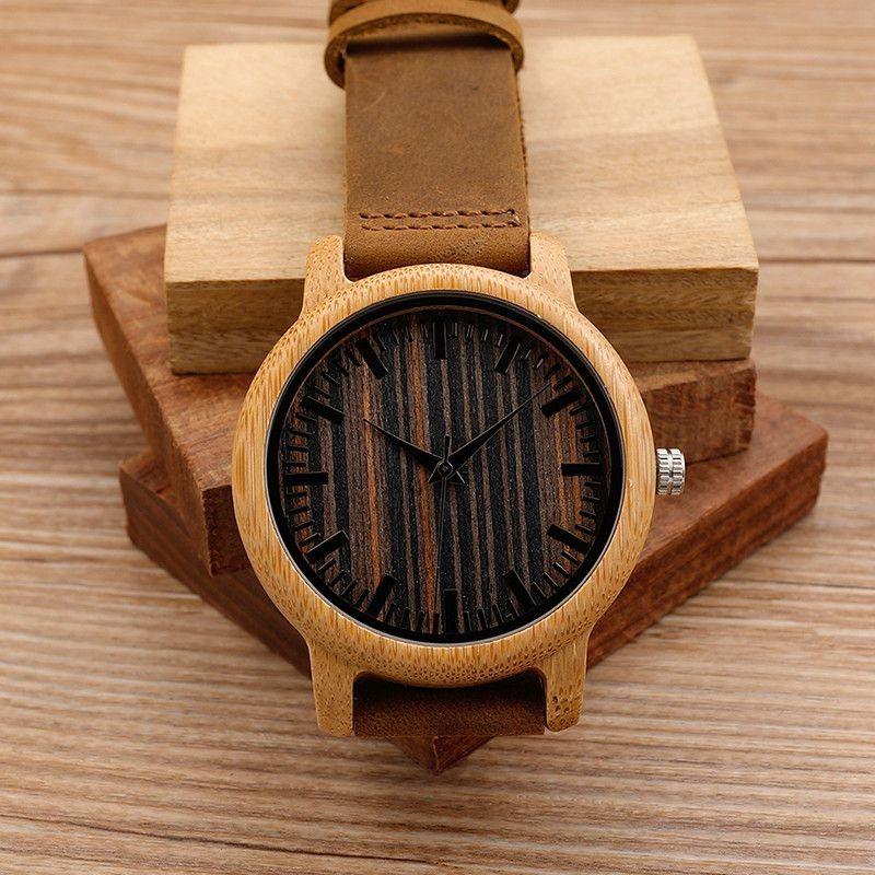 Relógio de Madeira Sapium - Bobo Bird