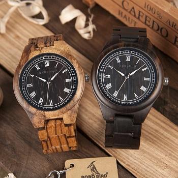 Relógio de Madeira Savia - Bobo Bird
