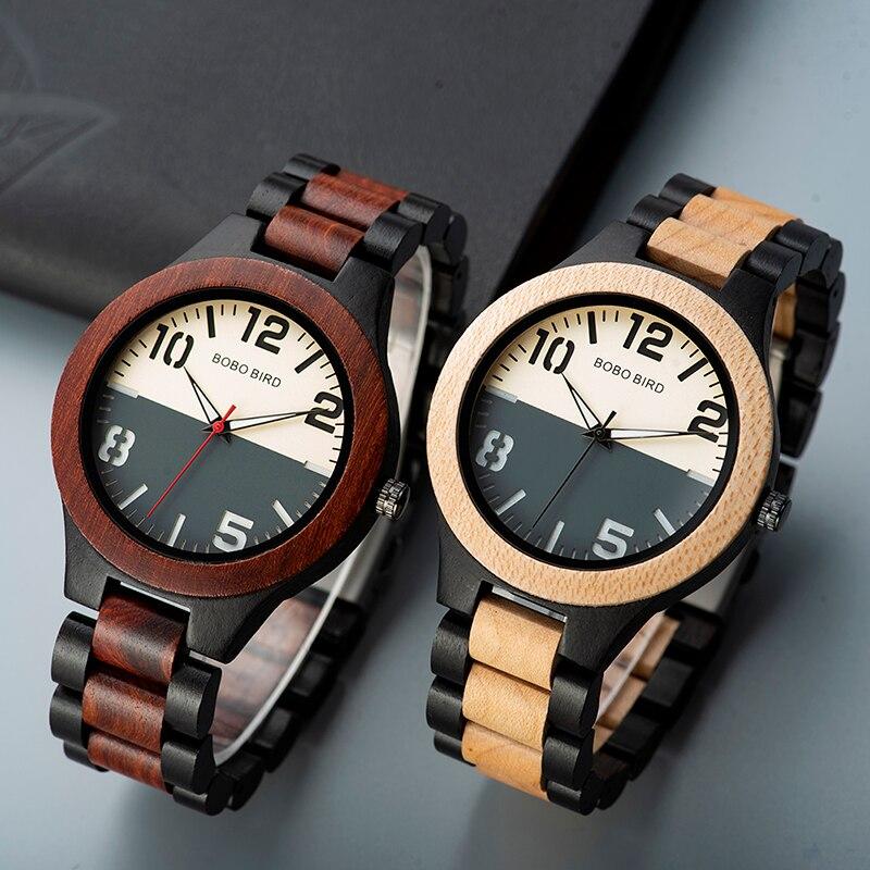 Relógio de Madeira Schinus - Bobo Bird