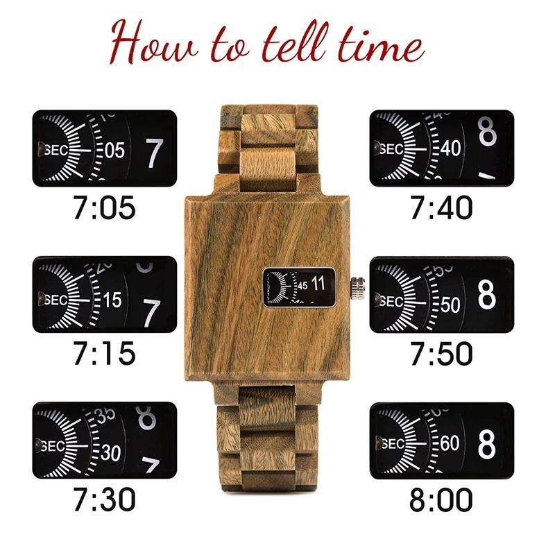 Relógio de Madeira Sessea - Bobo Bird