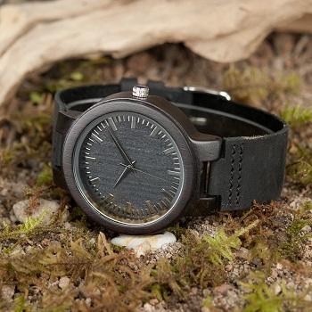 Relógio de Madeira Sideroxylon - Bobo Bird