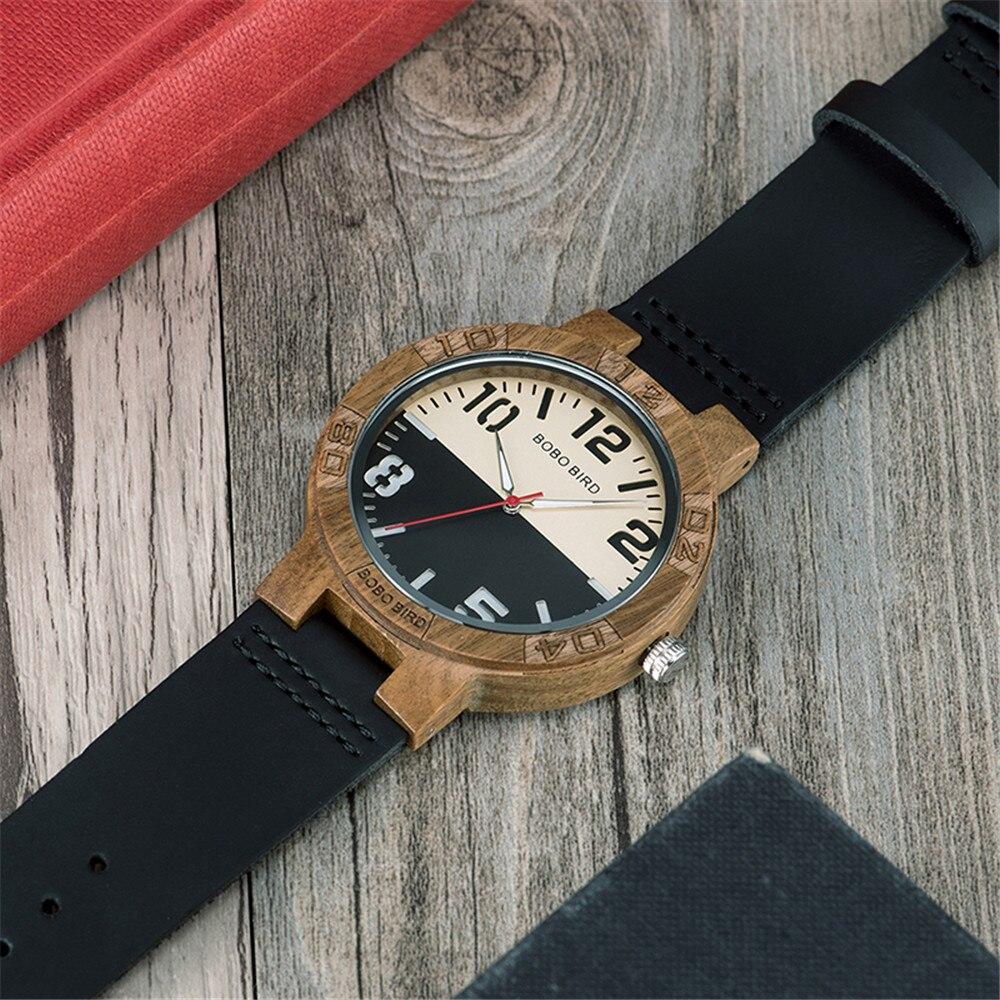 Relógio de Madeira Sparatto - Bobo Bird