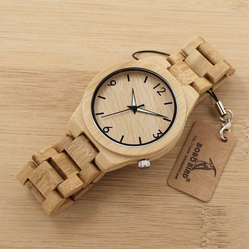Relógio de Madeira Spondias - Bobo Bird