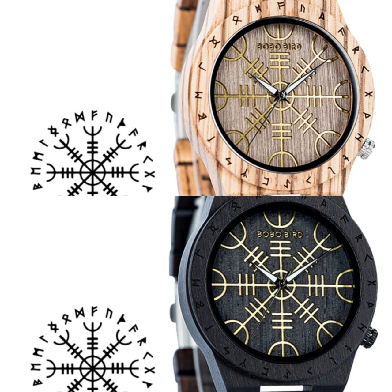 Relógio de Madeira Stenocalyx - Bobo Bird