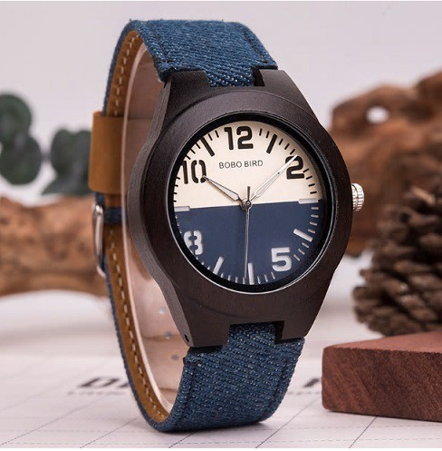 Relógio de Madeira Tamaryndus - Bobo Bird