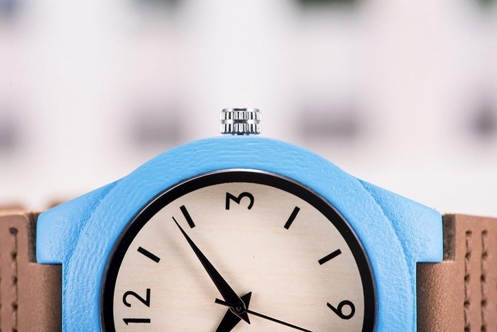 Relógio de Madeira Tepualia - Bobo Bird