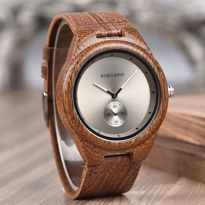 Relógio de Madeira Vassobia - Bobo Bird