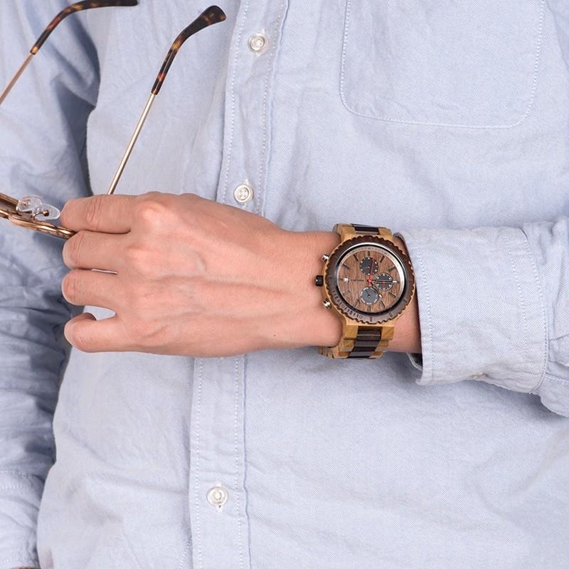 Relógio de Madeira Vermonia - Bobo Bird