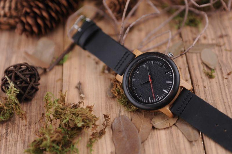 Relógio de Madeira Virola - Bobo Bird