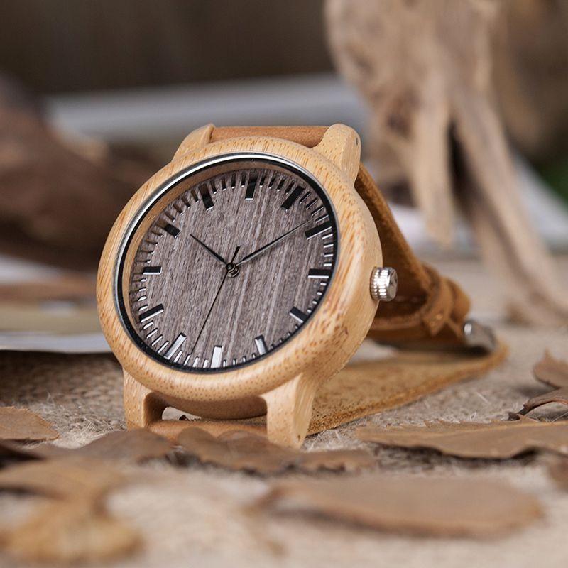 Relógio de Madeira Wampi - Bobo Bird