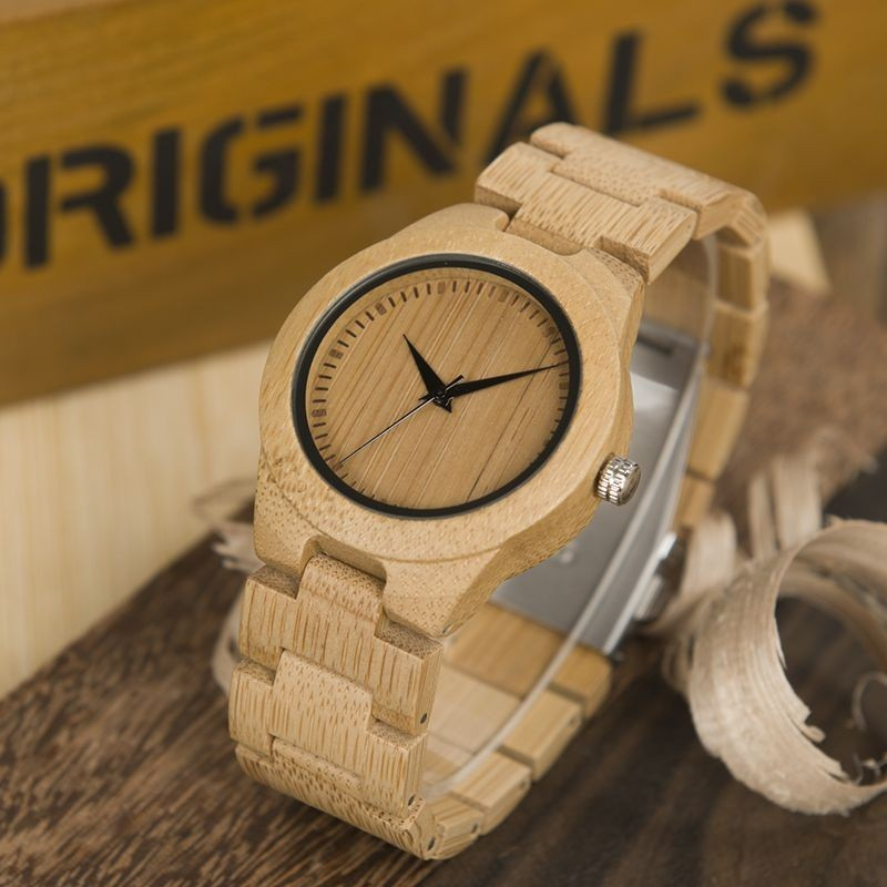 Relógio de Madeira Ximenia - Bobo Bird
