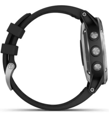 Relógio Smartwatch Garmin Fenix 5s Plus 010 01987 62 Preto