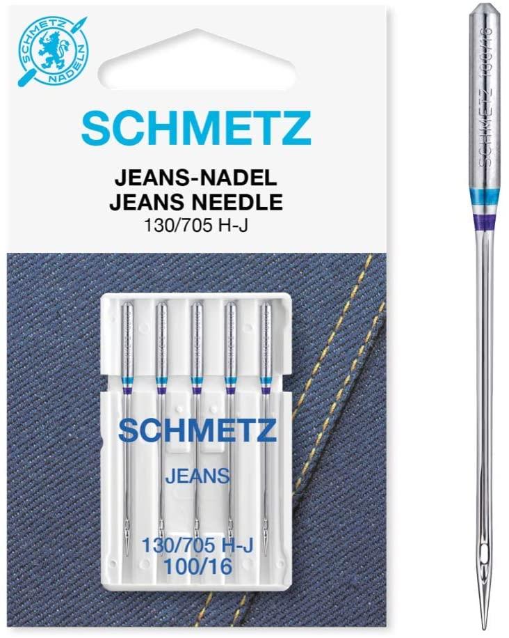 Agulha para Jeans Sistema 130/705 H-J Número 100/16